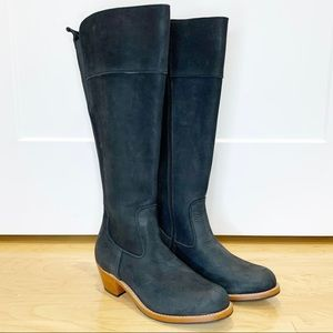 Adelante Black Leather The Condesa Riding Boots